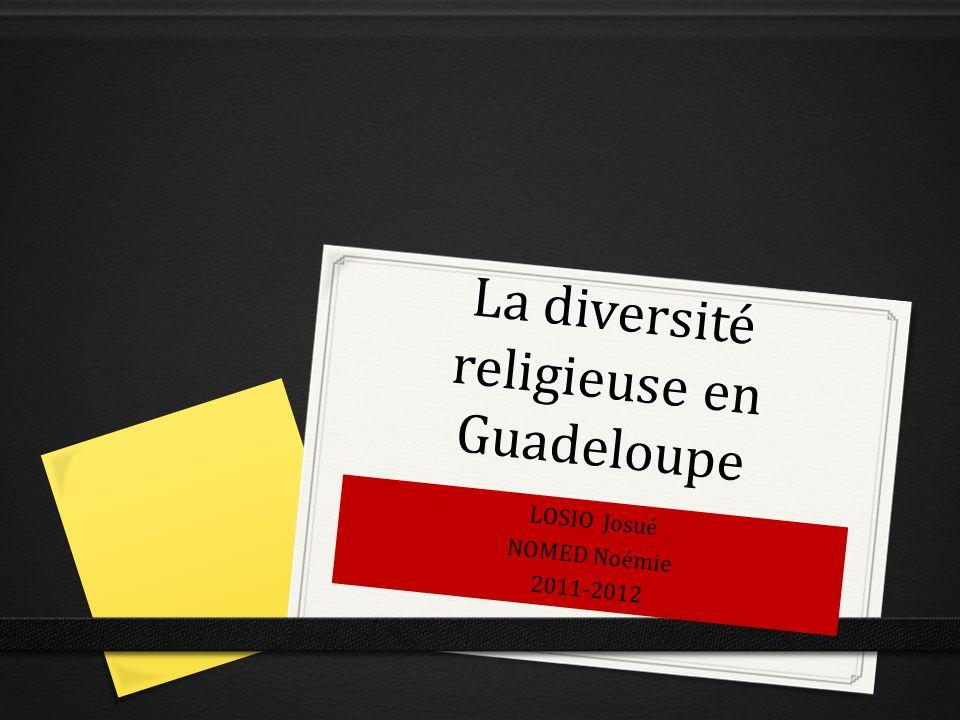 La diversité religieuse en Guadeloupe