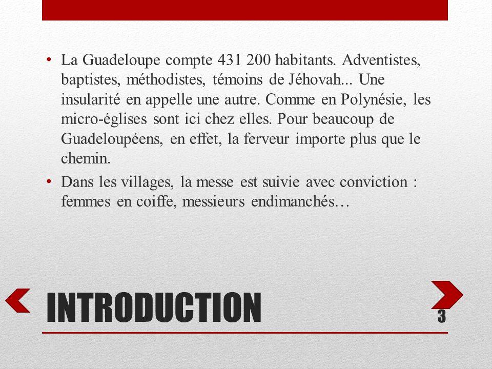 La Guadeloupe compte 431 200 habitants