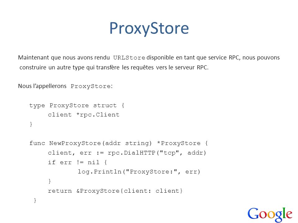 ProxyStore