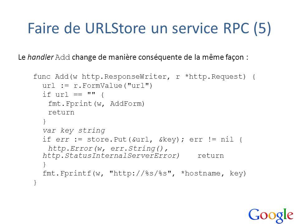 Faire de URLStore un service RPC (5)