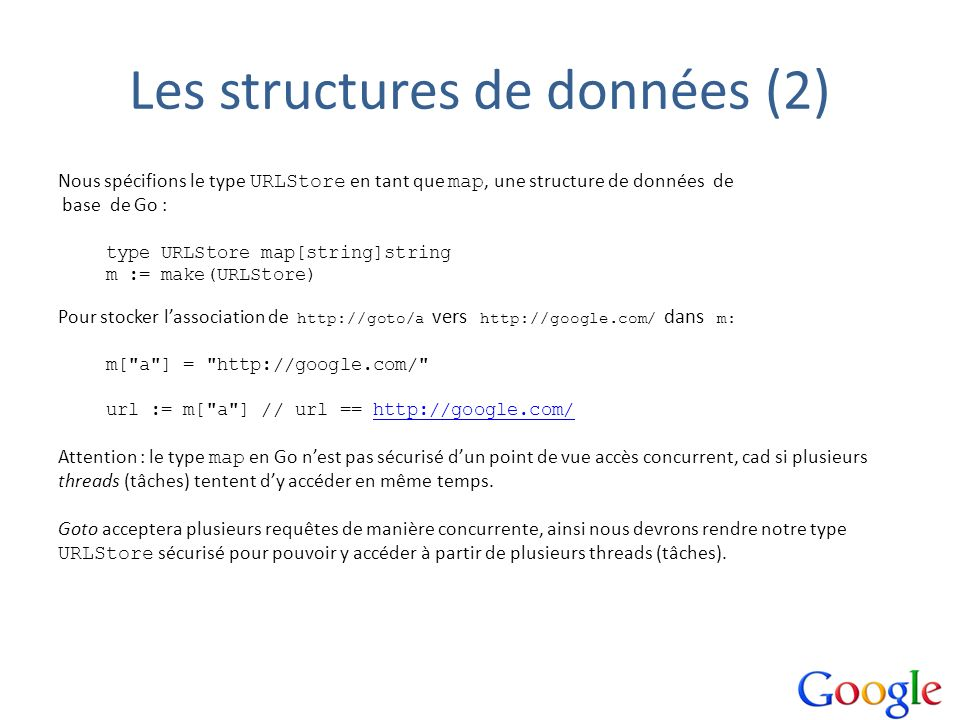Les structures de données (2)