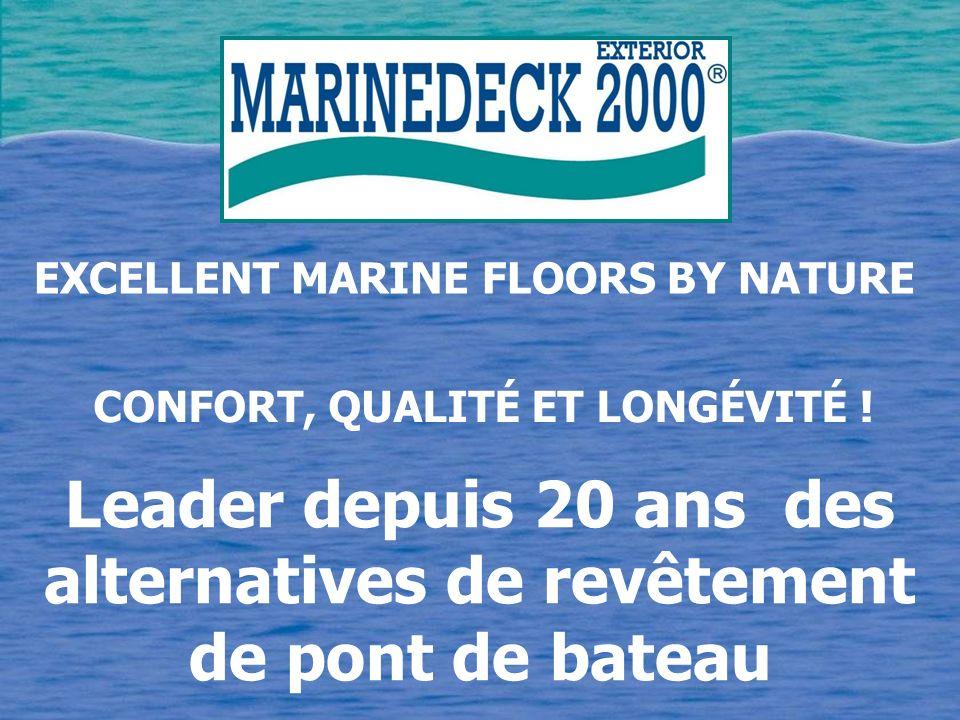 Leader depuis 20 ans des alternatives de revêtement de pont de bateau