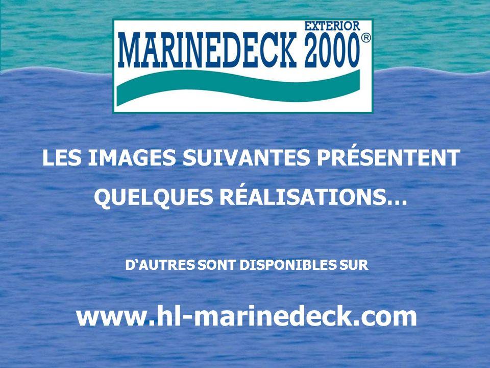 www.hl-marinedeck.com LES IMAGES SUIVANTES PRÉSENTENT