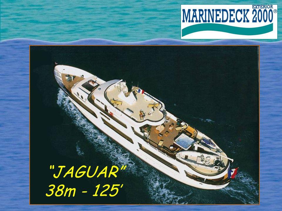 JAGUAR 38m - 125'