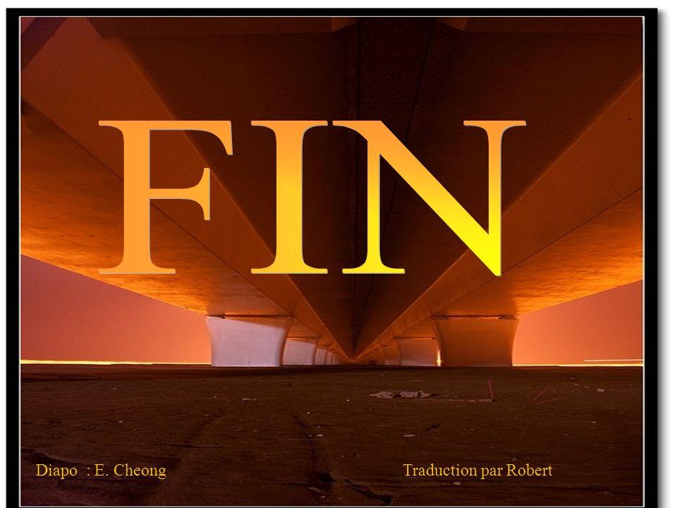 FIN Diapo : E. Cheong Traduction par Robert