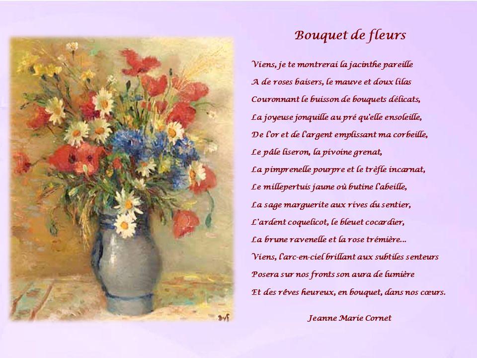 Bouquet de fleurs Viens, je te montrerai la jacinthe pareille