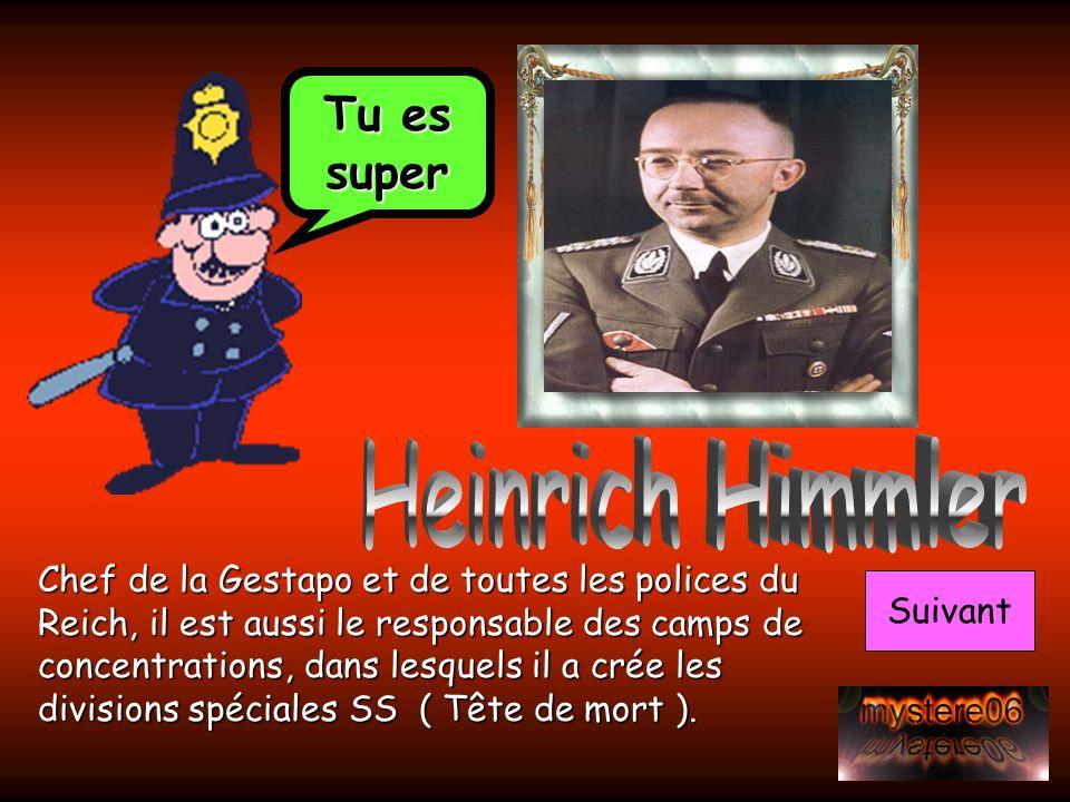 Heinrich Himmler Tu es super