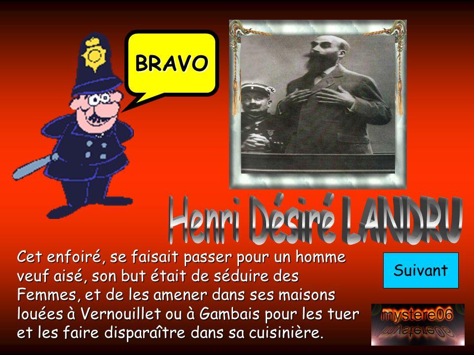 Henri Désiré LANDRU BRAVO