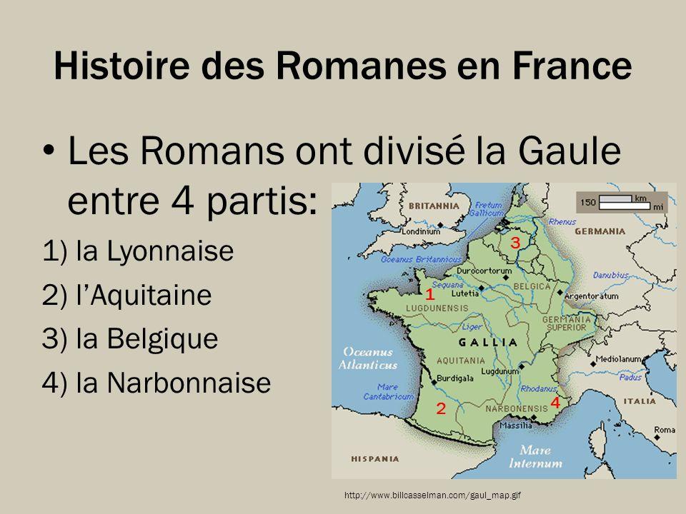 Histoire des Romanes en France