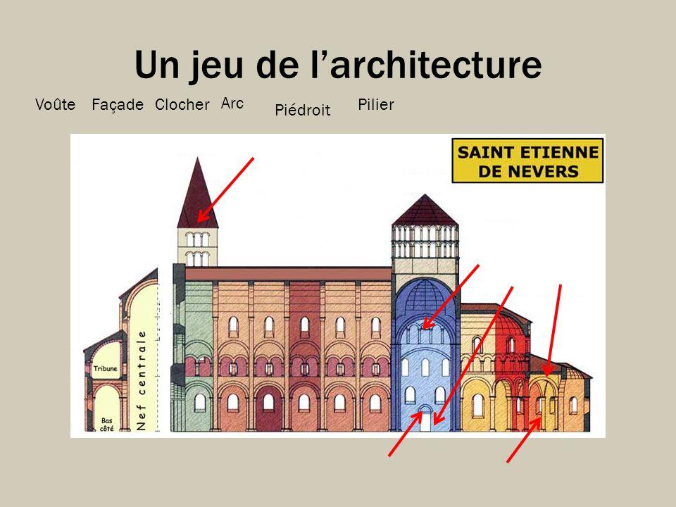 Un jeu de l'architecture