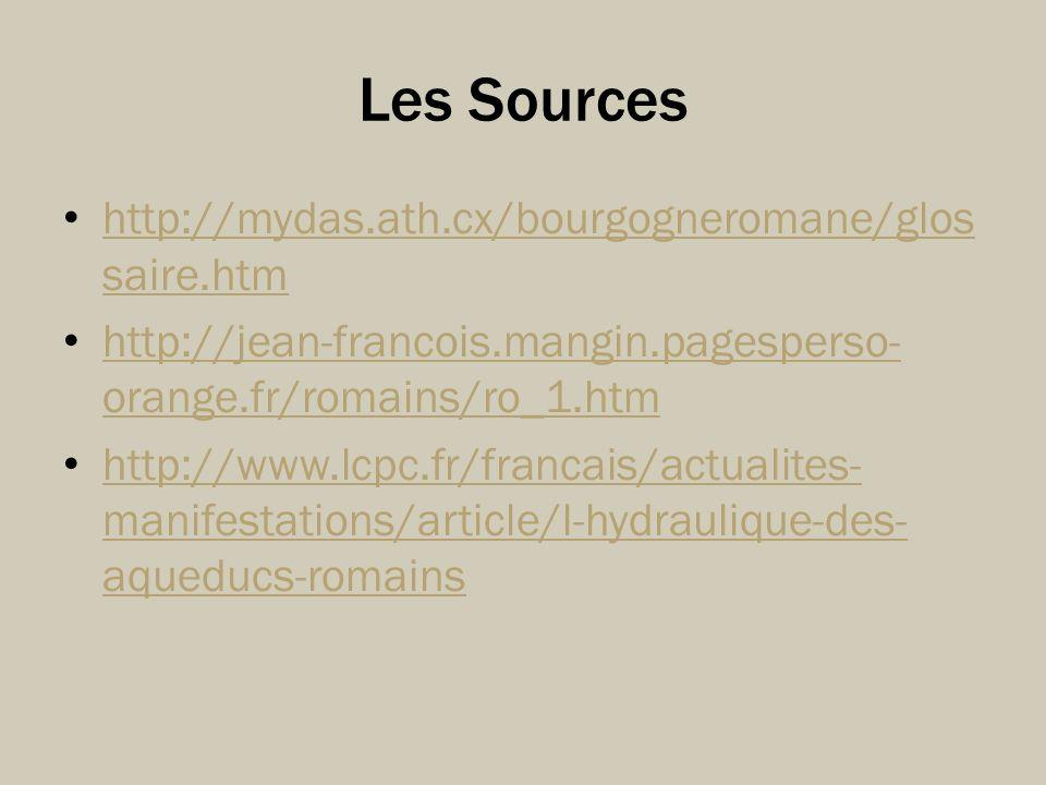 Les Sources http://mydas.ath.cx/bourgogneromane/glossaire.htm