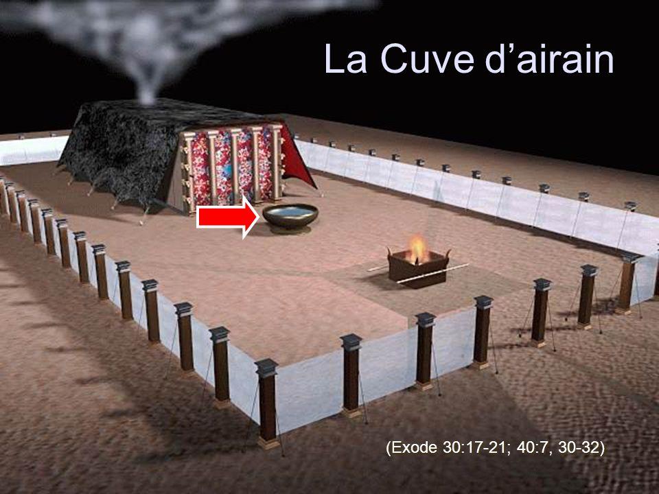 La Cuve d'airain (Exode 30:17-21; 40:7, 30-32)