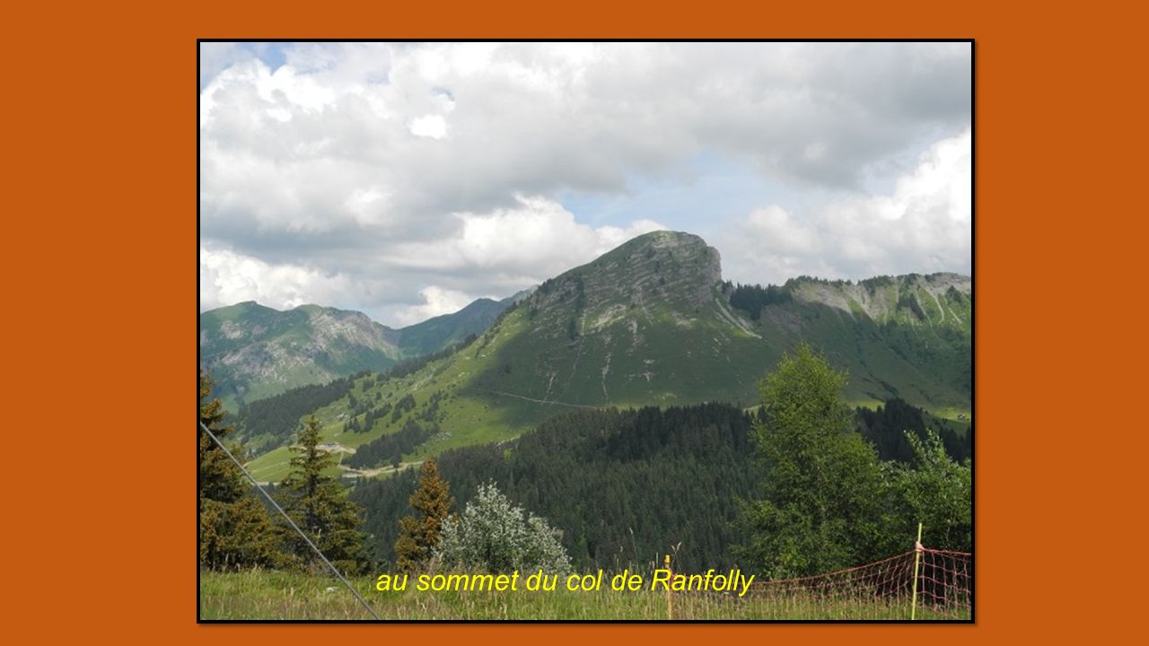 au sommet du col de Ranfolly