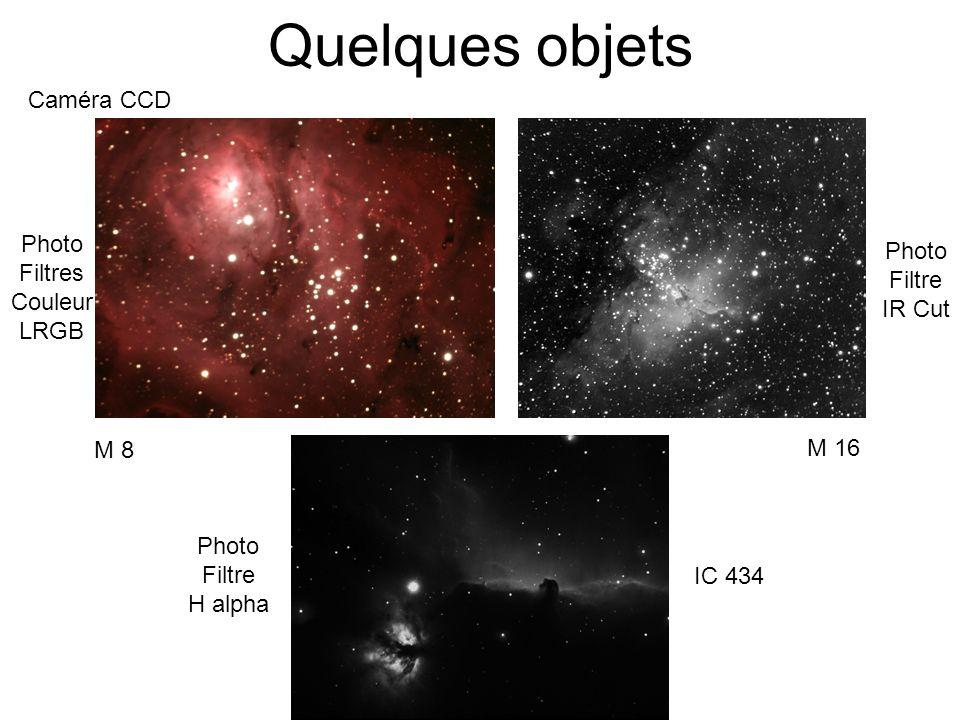 Quelques objets Caméra CCD Photo Photo Filtres Filtre Couleur IR Cut