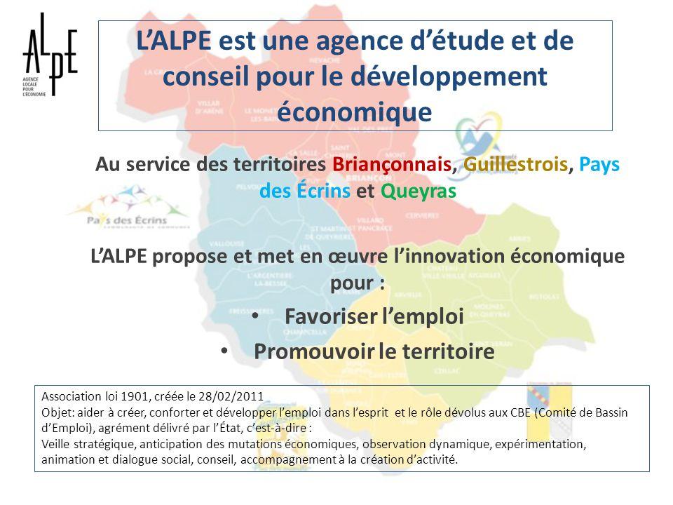 L'ALPE est une agence d'étude et de conseil pour le développement économique