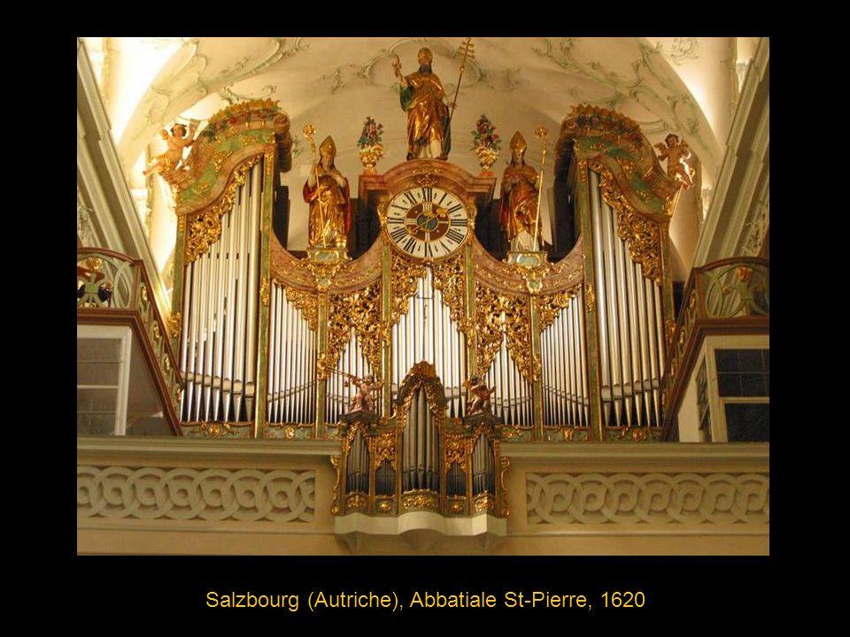 Salzbourg (Autriche), Abbatiale St-Pierre, 1620