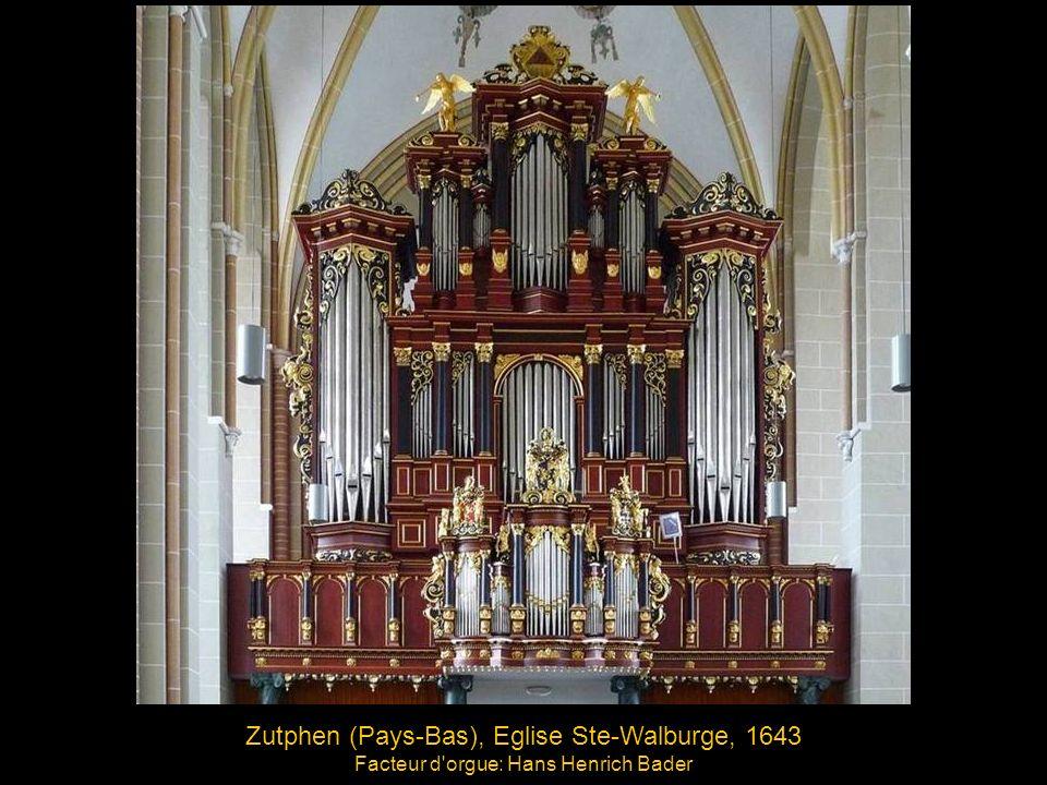 Zutphen (Pays-Bas), Eglise Ste-Walburge, 1643