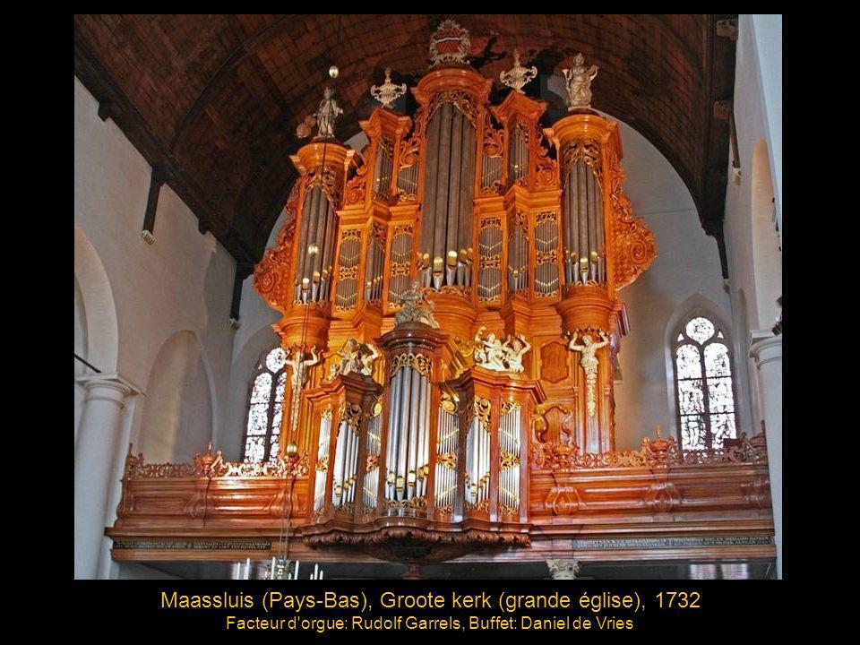 Maassluis (Pays-Bas), Groote kerk (grande église), 1732