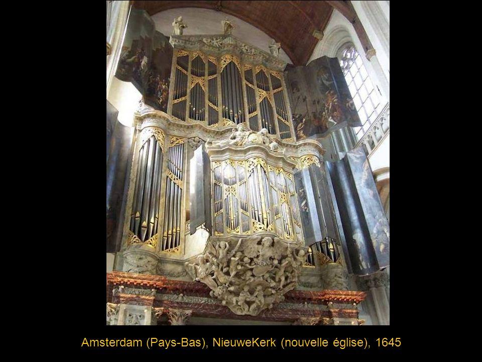 Amsterdam (Pays-Bas), NieuweKerk (nouvelle église), 1645