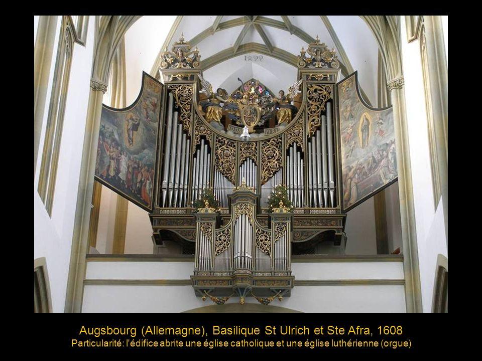 Augsbourg (Allemagne), Basilique St Ulrich et Ste Afra, 1608