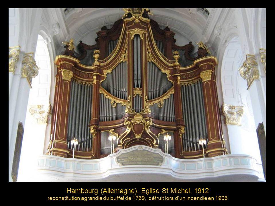 Hambourg (Allemagne), Eglise St Michel, 1912