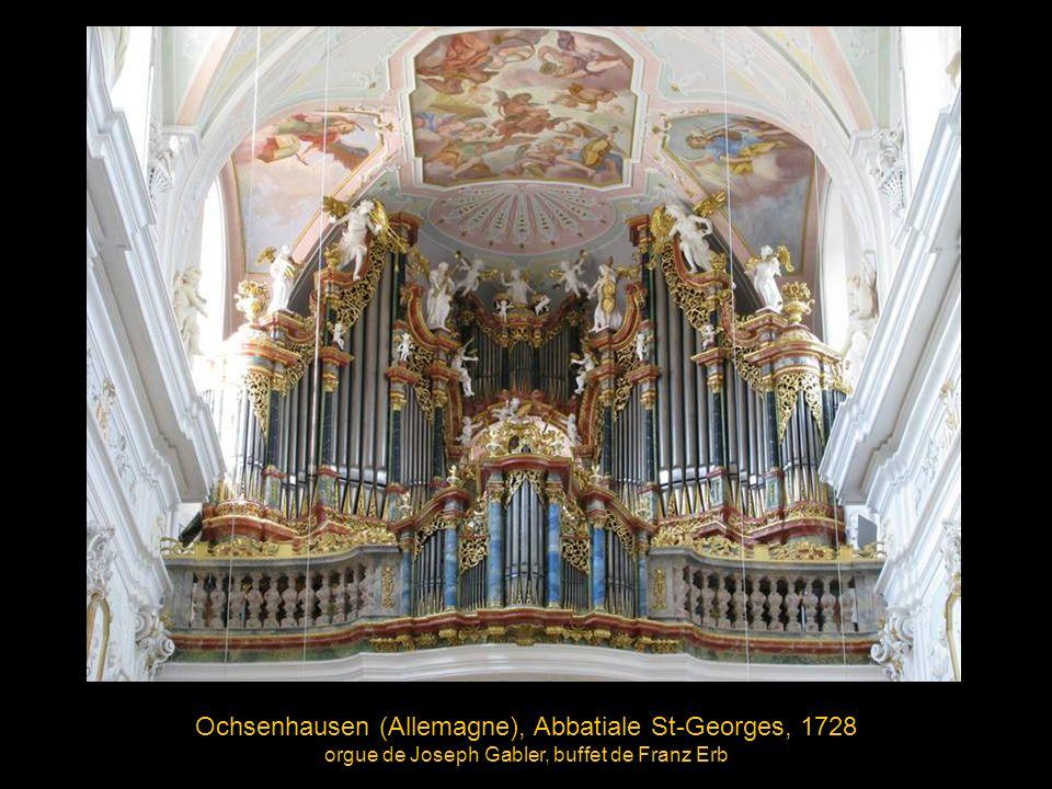 Ochsenhausen (Allemagne), Abbatiale St-Georges, 1728