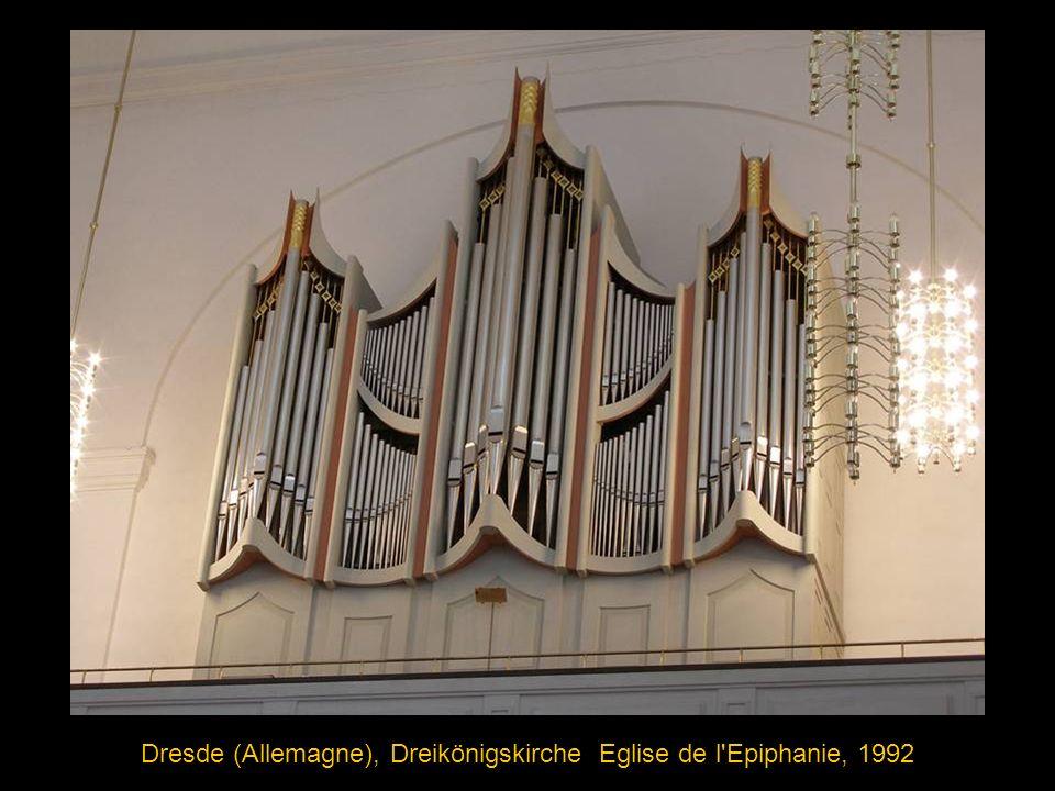 Dresde (Allemagne), Dreikönigskirche Eglise de l Epiphanie, 1992
