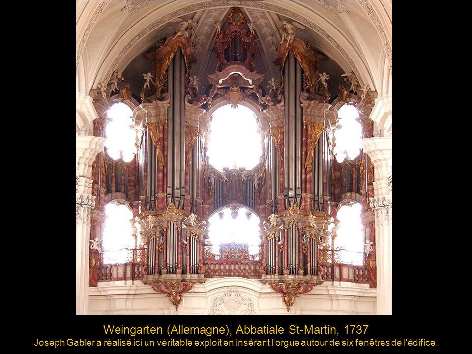 Weingarten (Allemagne), Abbatiale St-Martin, 1737