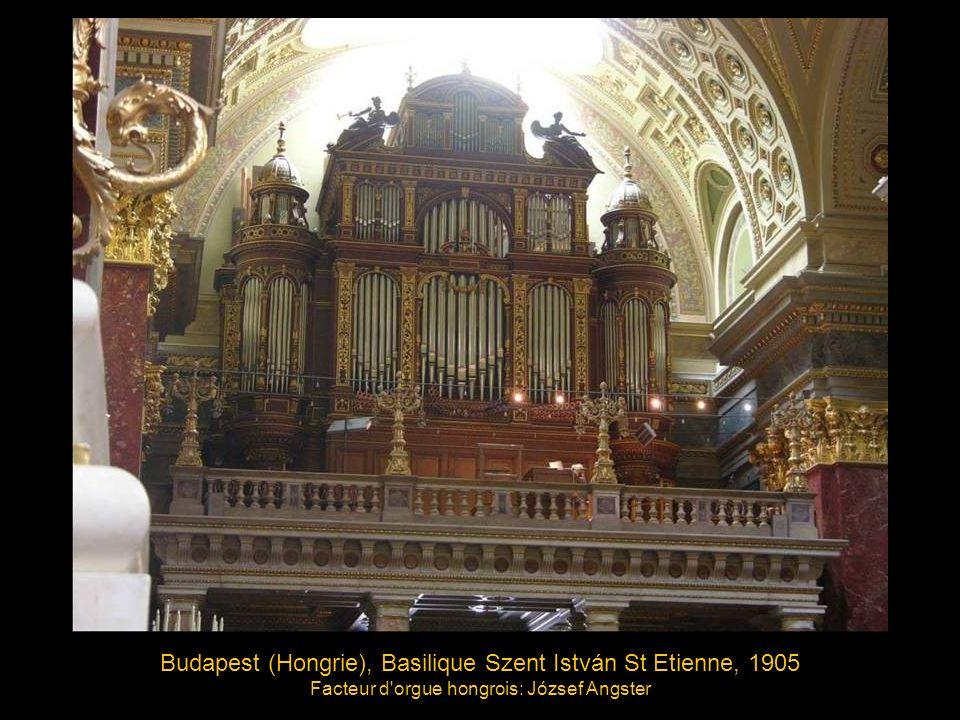 Budapest (Hongrie), Basilique Szent István St Etienne, 1905