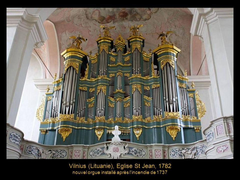 Vilnius (Lituanie), Eglise St Jean, 1782