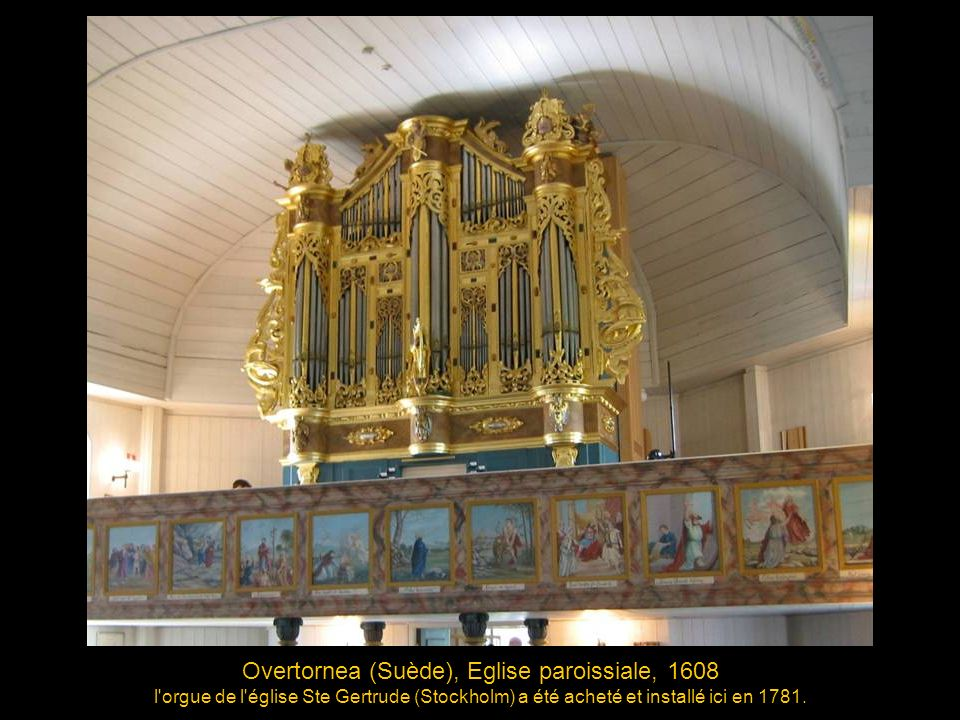 Overtornea (Suède), Eglise paroissiale, 1608