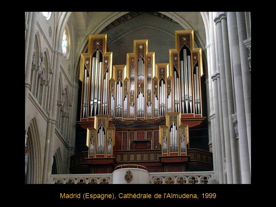 Madrid (Espagne), Cathédrale de l Almudena, 1999