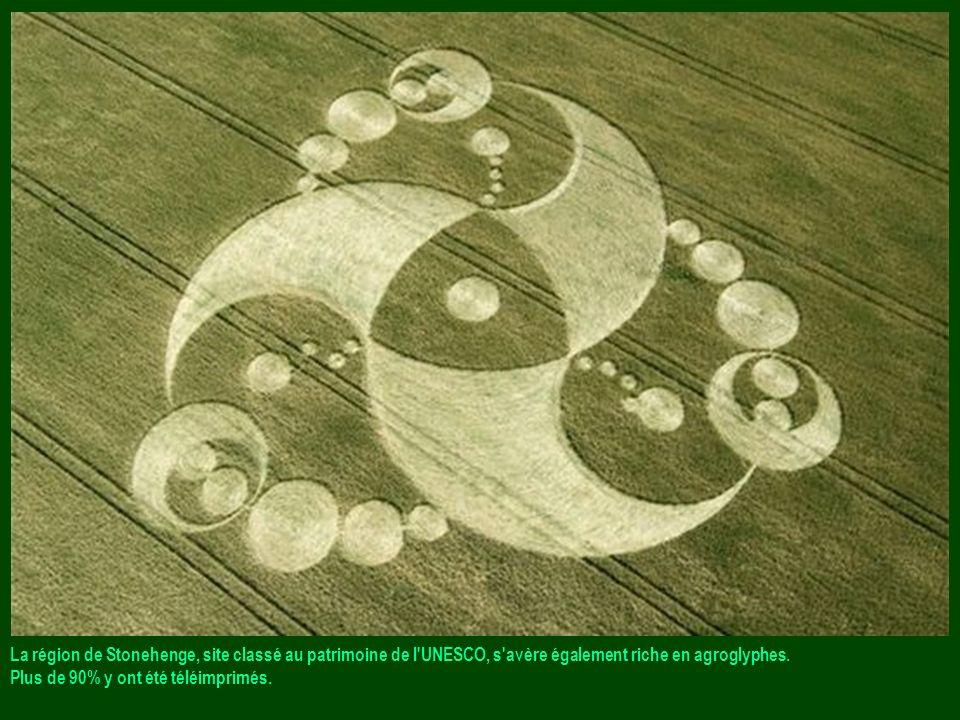 La région de Stonehenge, site classé au patrimoine de l UNESCO, s avère également riche en agroglyphes.