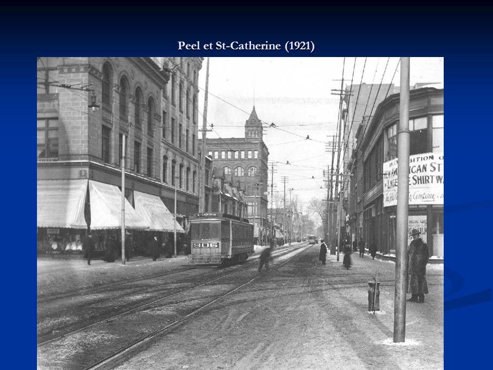 Peel et St-Catherine (1921)