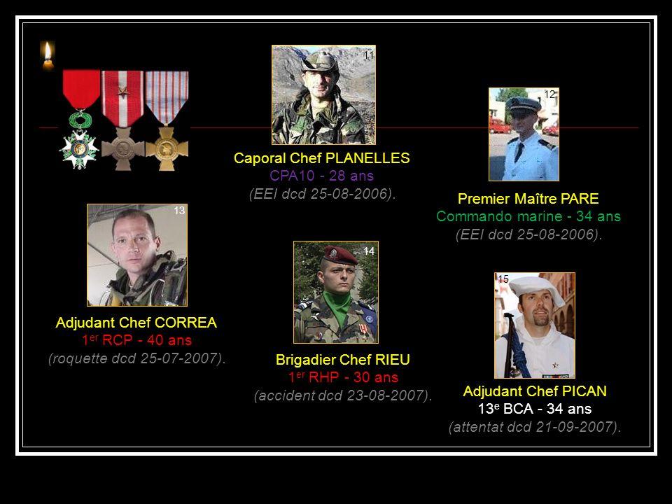 Caporal Chef PLANELLES