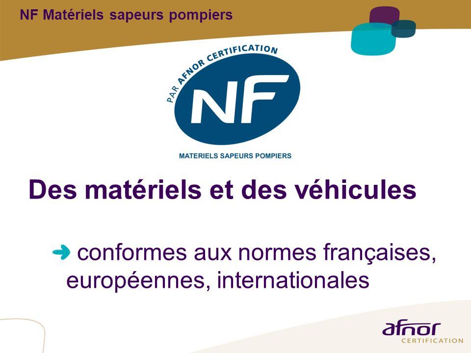 NF Matériels sapeurs pompiers