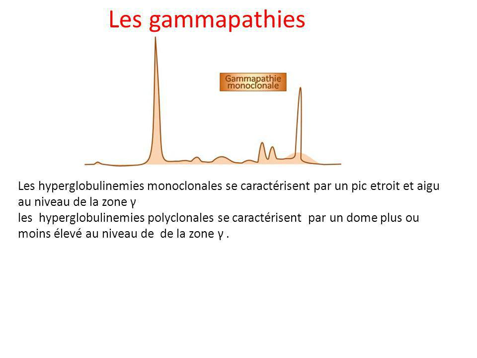 Les gammapathies