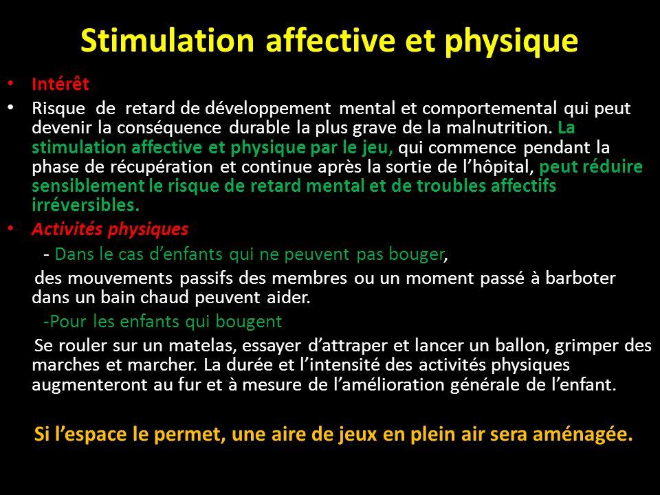Stimulation affective et physique