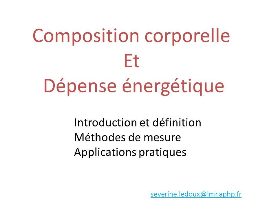 Composition corporelle