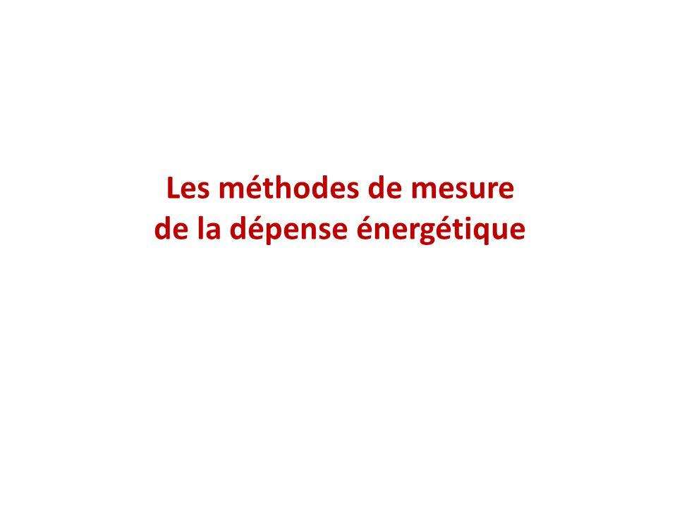 de la dépense énergétique