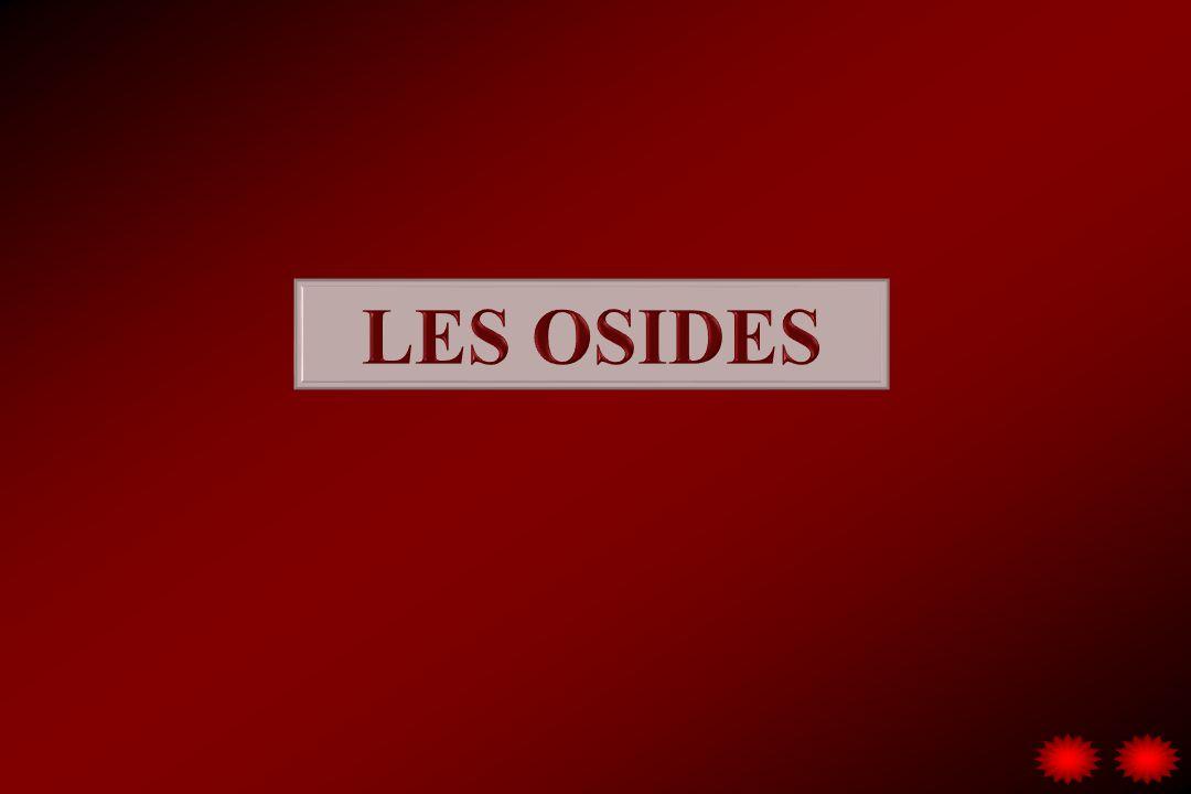 LES OSIDES