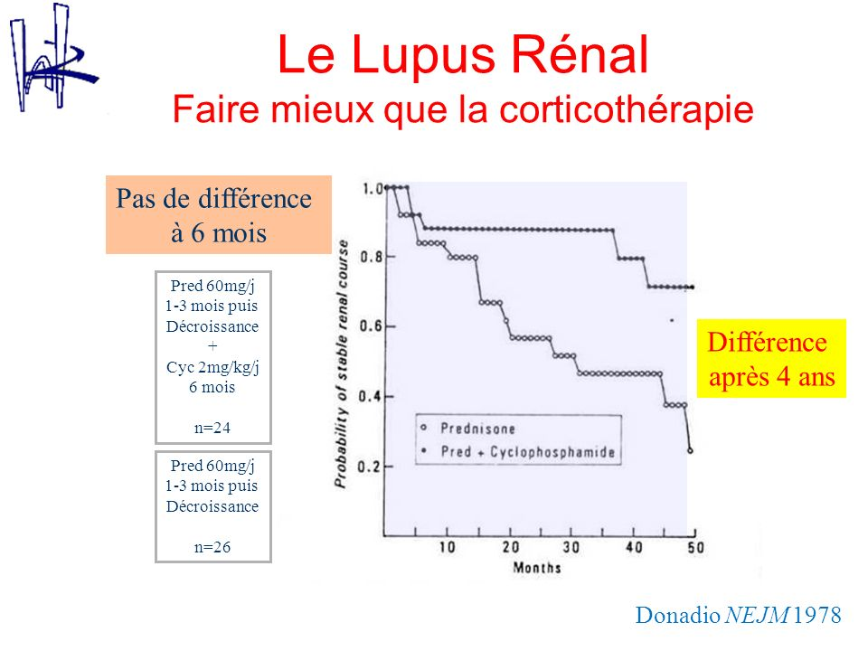 Le Lupus Rénal Faire mieux que la corticothérapie