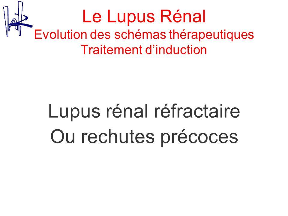 Lupus rénal réfractaire
