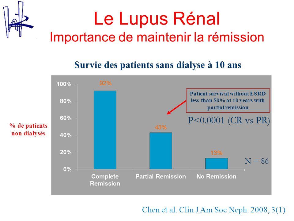 Le Lupus Rénal Importance de maintenir la rémission