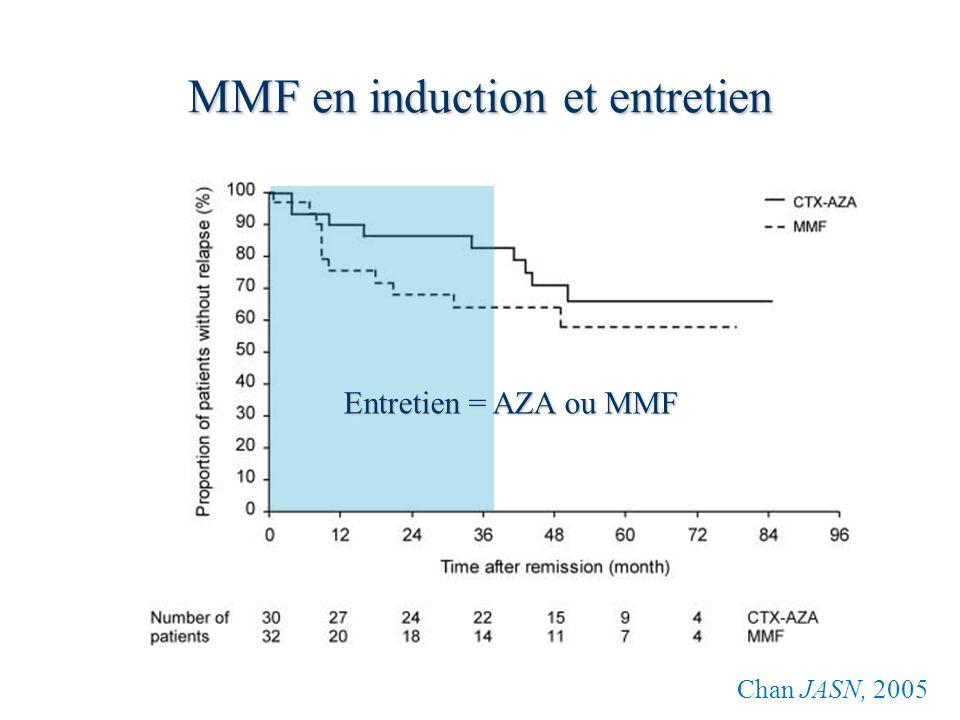 MMF en induction et entretien