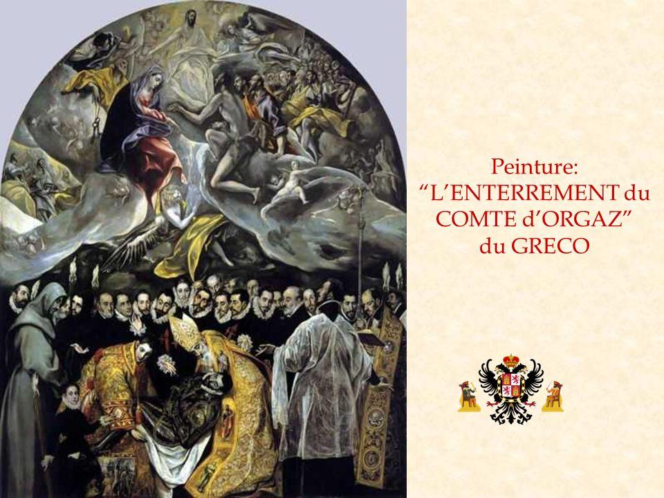 Peinture: L'ENTERREMENT du COMTE d'ORGAZ du GRECO