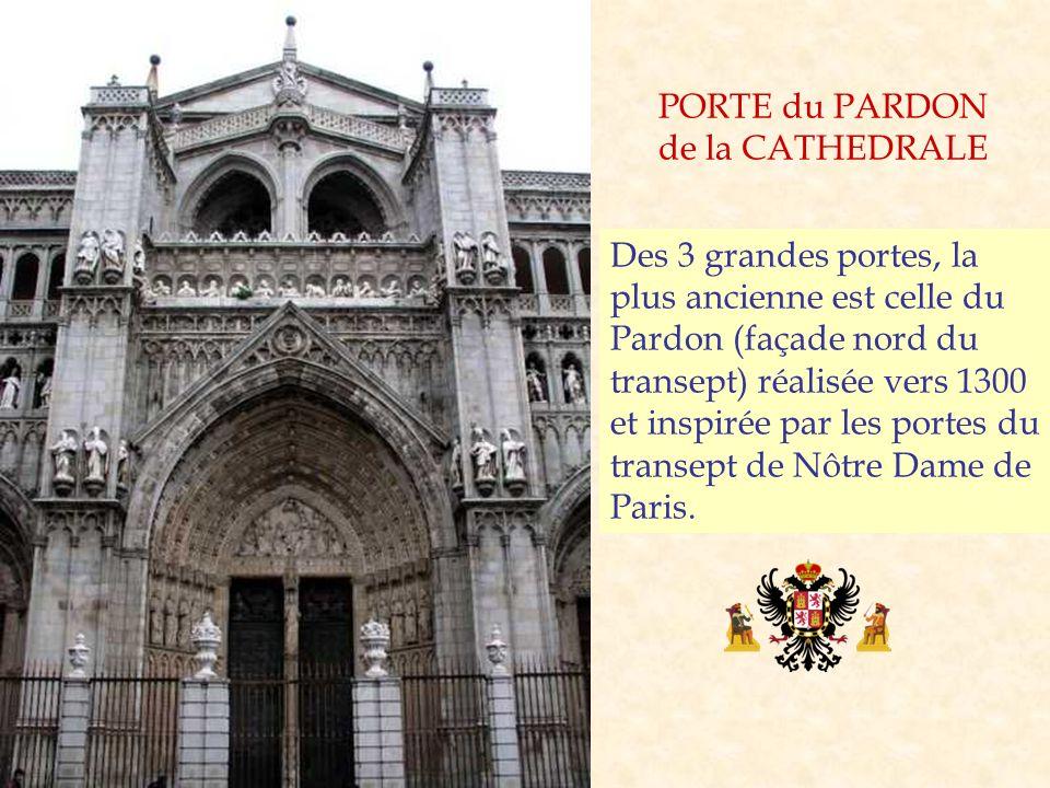 PORTE du PARDON de la CATHEDRALE.
