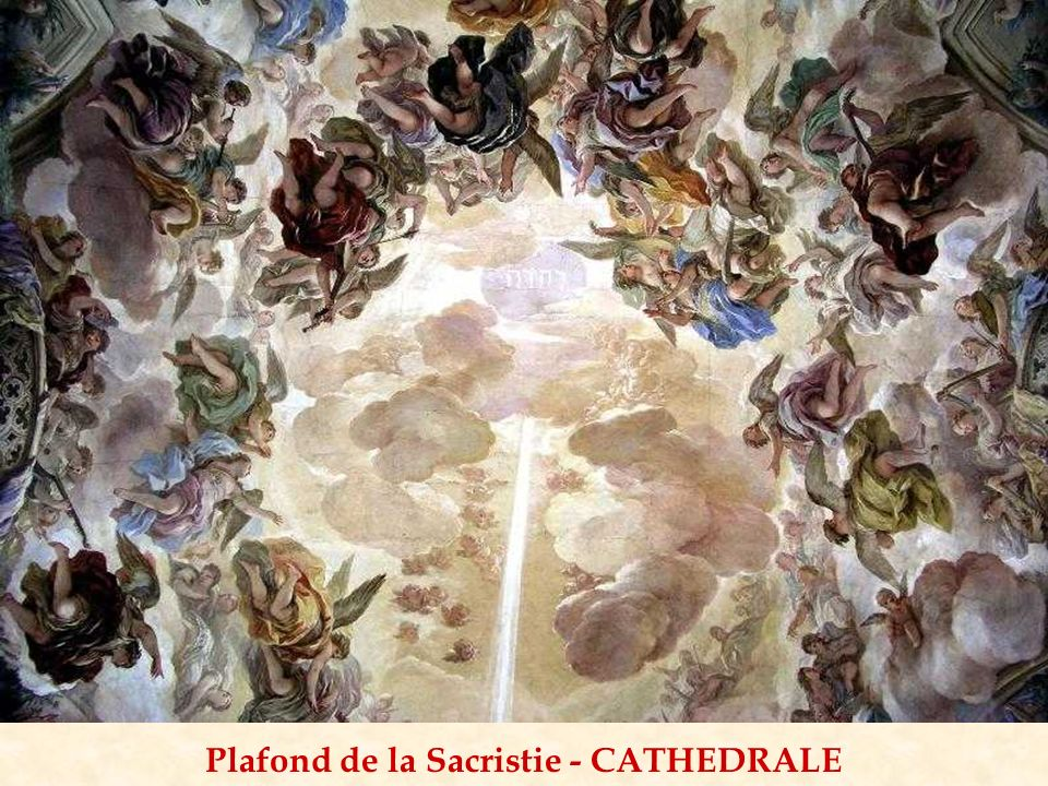 Plafond de la Sacristie - CATHEDRALE