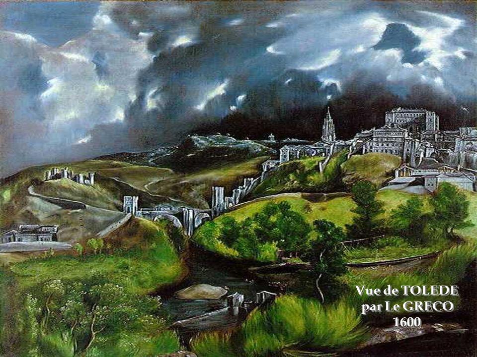 Vue de TOLEDE par Le GRECO 1600