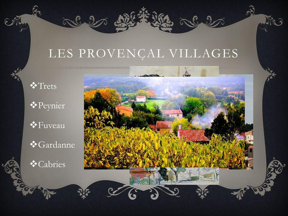 les Provençal villages